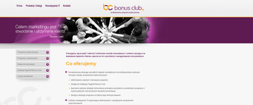 BONUS CLUB SP Z O O